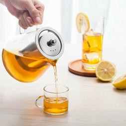 TMOST 950ml/32oz Glass Teapot with Infuser Loose Leaf  Tea P