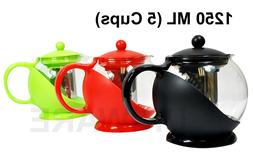 Tea Pot Coffee Pot with Removable Stainless Steel Filter,125