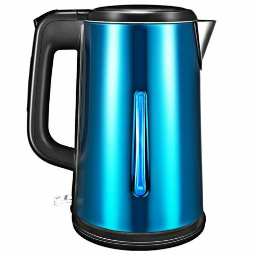 1.8L Stainless Electric Glass Kettle Hot Water Fast Boiling