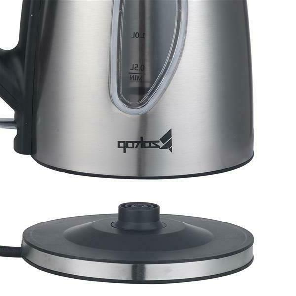 1500W Electric Coffee Pot Hot Water Fast Stainless 1.8L
