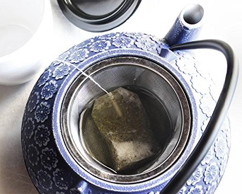Blue Teapot Kettle with Steel