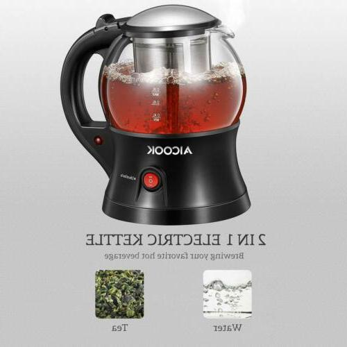 Electric Tea with Removable Tea