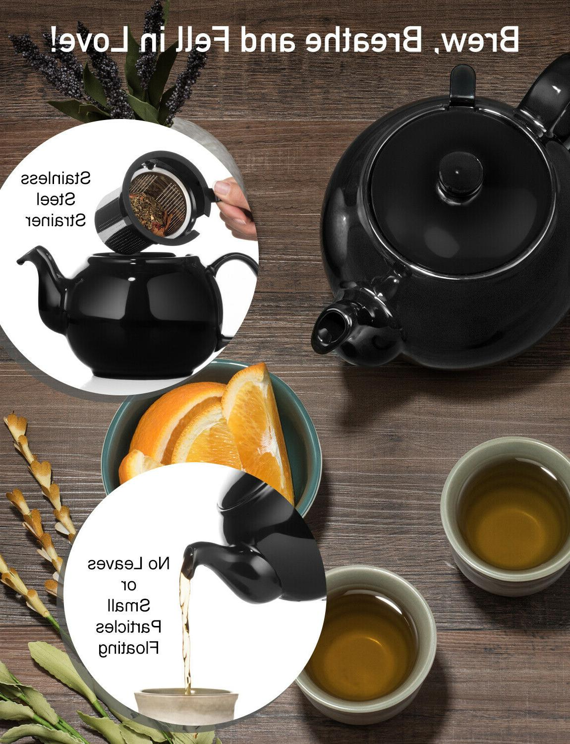 Large Teapot Removable Stainless Steel