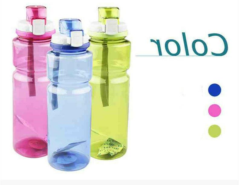 outdoor plastic bottles large capacity sports water