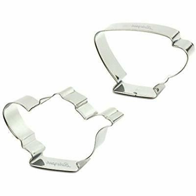 stainless steel cookie cutters tea pot