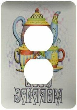 3dRose lsp_162136_6 Beautiful Patterned Colorful Teapot Set