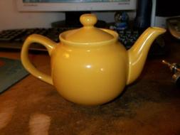 Never Used OLD AMSTERDAM Yellow Gold Porcelain Teapot 2 or 3