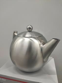 Stainless Steel Tea Pot With Removable Infuser | Loose Leaf