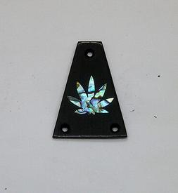 Truss Rod Cover with Pot Leaf Inlay will fit Jackson